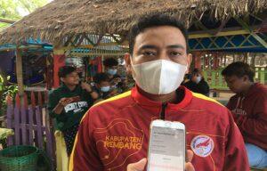 Wakil Ketua Pengurus ESI Kabupaten Rembang, Ahmad Syakir.