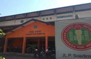 Bangunan gedung PGRI Rembang akan dijadikan Mall Pelayanan Publik Terpadu.
