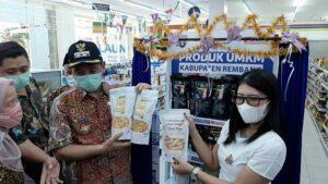 Produk UMKM Rembang dijual di toko modern, Indomaret.