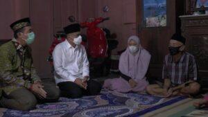 Wakil Ketua Komisi V DPR RI, Muhamad Arwani Thomafi mengunjungi rumah keluarga korban kapal selam Nanggala 402, Rabu sore (28/04).