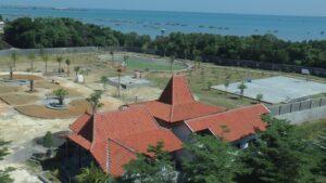 Pengembangan fasilitas di sebelah barat Pollos Hotel & Gallery Rembang.
