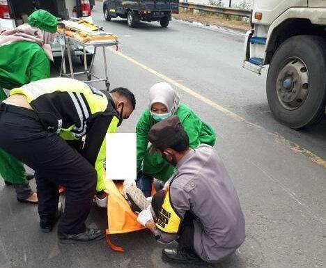 Kecelakaan Di Sebelah Timur Jembatan Kiringan Merenggut Korban Jiwa, Polisi Ungkap Identitasnya