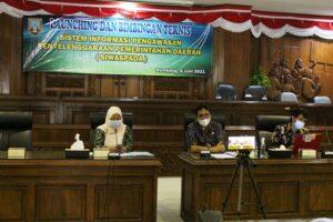 Sekretariat DPRD Rembang menggelar bimbingan teknis aplikasi SiWaspada, baru-baru ini.
