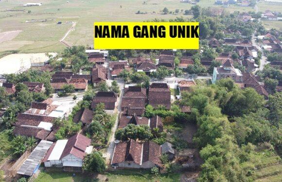 Arti Dibalik Deretan Gang-Gang Unik Di Dusun Ini, Bantu Program Pemerintah