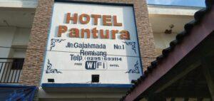 Hotel Pantura Rembang difungsikan tempat isolasi mandiri terpusat.