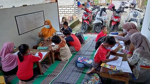 Efek Pandemi : Banyak Anak Kelas I SD Belum Bisa Baca Tulis, Bimbel Kebanjiran Murid