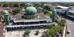 Masjid Jami' Lasem yang akan menjadi sasaran penataan.