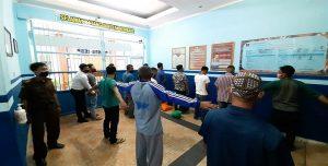 13 orang terpidana masuk ke Rutan, setelah dieksekusi oleh pihak Kejaksaan Negeri Rembang.