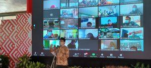 Menteri Desa Pembangunan Daerah Tertinggal Dan Transmigrasi, Abdul Halim Iskandar saat menggelar kunjungan kerja di Rembang, Jum'at (17/09).